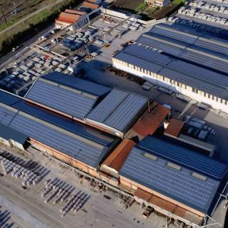 Centrale photovoltaïque en toitures